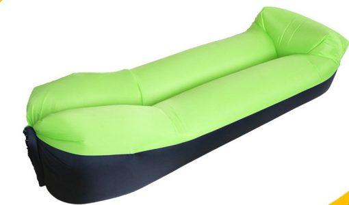 Newplay laybag solsäng svart grön