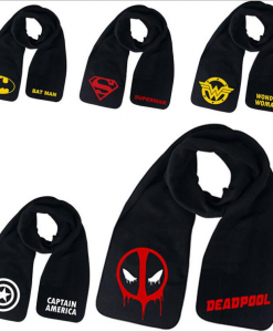 newplay marvel avengers halsduk scarf capten america deadpool wonderwoman superman batman