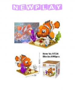 Mini lego hitta Nemo