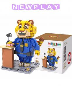 Mini lego Zootropolis Clawhauser