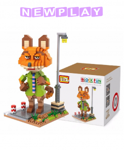 Mini lego Zootropolis Nick Wilde