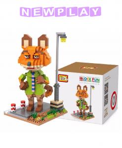 Mini lego Zootropolis Nick Wilde