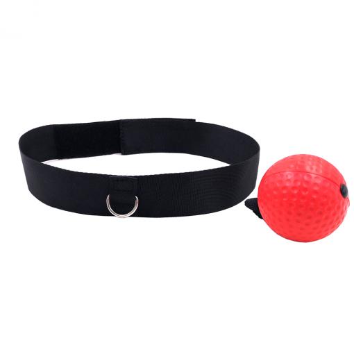 Newplay pannbands boxning headband boxing svart röd