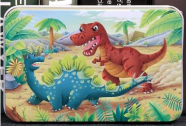 newplay pussel 60 bitar trä dinosaurier 1