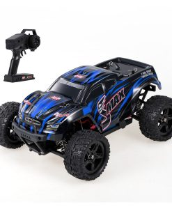newplay radiostyrd bil monstertruck offroad mellan REMO 1631 4WD 6