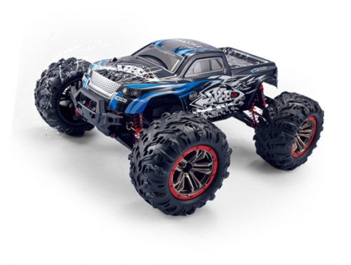 newplay radiostyrd bil monstertruck offroad stor HOSHI N516 blå