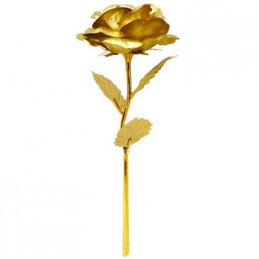 newplay ros i metall med love stativ guld 1