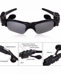 newplay sportglasögon med inbyggda bluetooth hörlurar 2