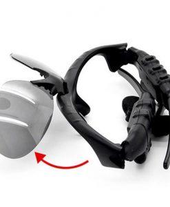 newplay sportglasögon med inbyggda bluetooth hörlurar 4