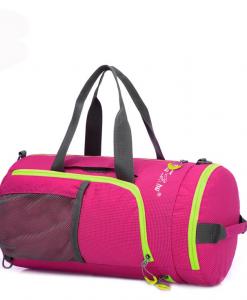 Newplay sportväska cykelväska vattentät rosa