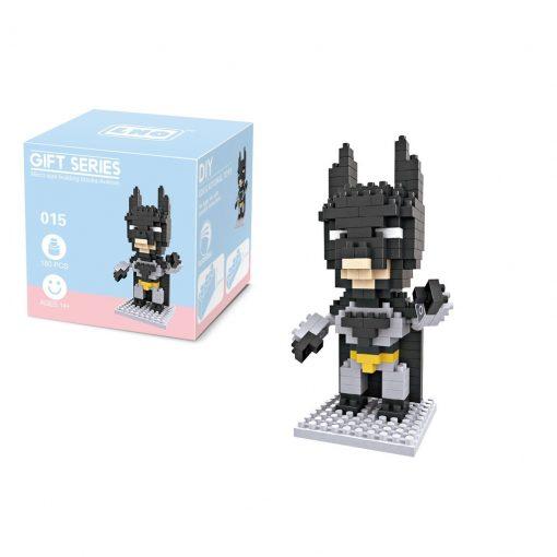 newplay superhjältar byggmodell mini lego batman 1.1