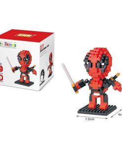 newplay superhjältar byggmodell mini lego deadpool 1.1