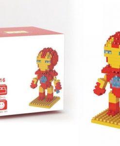 newplay superhjältar byggmodell mini lego iron man 1.1