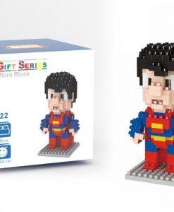 newplay superhjältar byggmodell mini lego stålmannen 1.1
