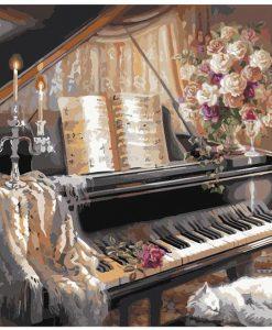 newplay tavla måla efter nummer akryl piano (2)