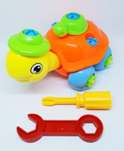 newplay byggmodell motorik leksak skruva ihop sköldpadda