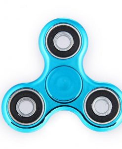newplay fidget spinner metallfärgad turkos