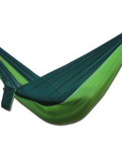 newplay hängmatta med myggnät nylon 210D ljusgrön-mörkgrön