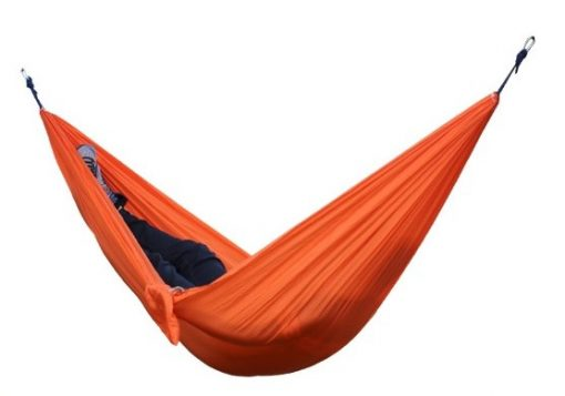 newplay hängmatta med myggnät nylon 210D orange