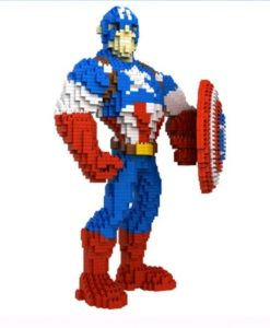 newplay minilego captain america stor 8830-1