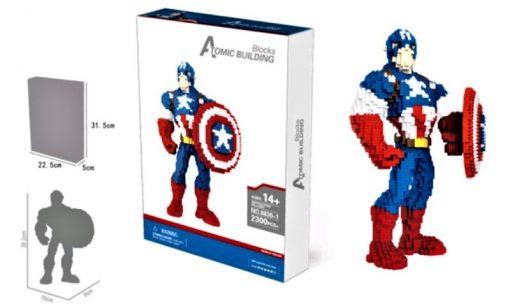 newplay minilego captain america stor box 8830-1