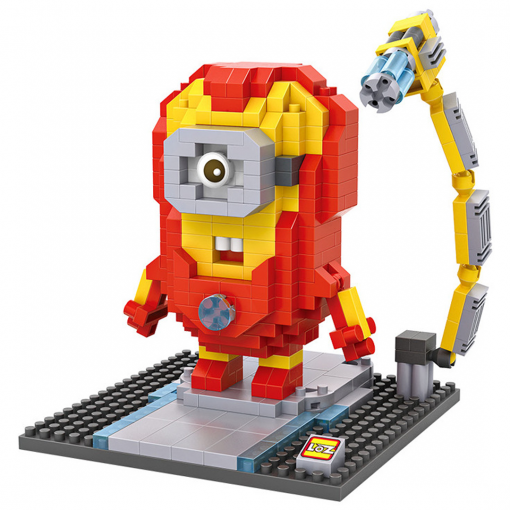newplay minilego minion iron man 9536