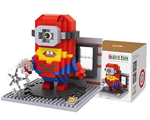 newplay minilego minion spindelmannen 9542