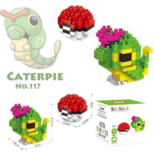 newplay pokemon blocks caterpie