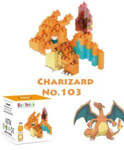 newplay pokemon blocks charizard