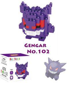 newplay pokemon blocks gengar