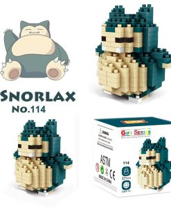 newplay pokemon blocks snorlax