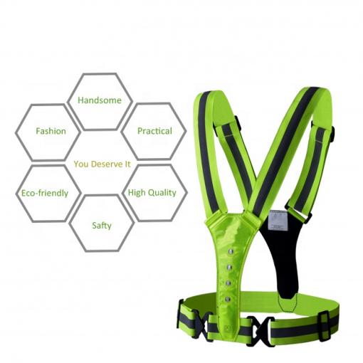 Newplay reflexband reflexväst ledbelysning one size fits all 1