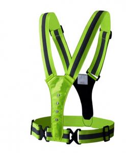Newplay reflexband reflexväst ledbelysning one size fits all