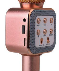 newplay ws-1818 bluetooth karaoke mikrofon baksidanewplay ws-1818 bluetooth karaoke mikrofon framsida