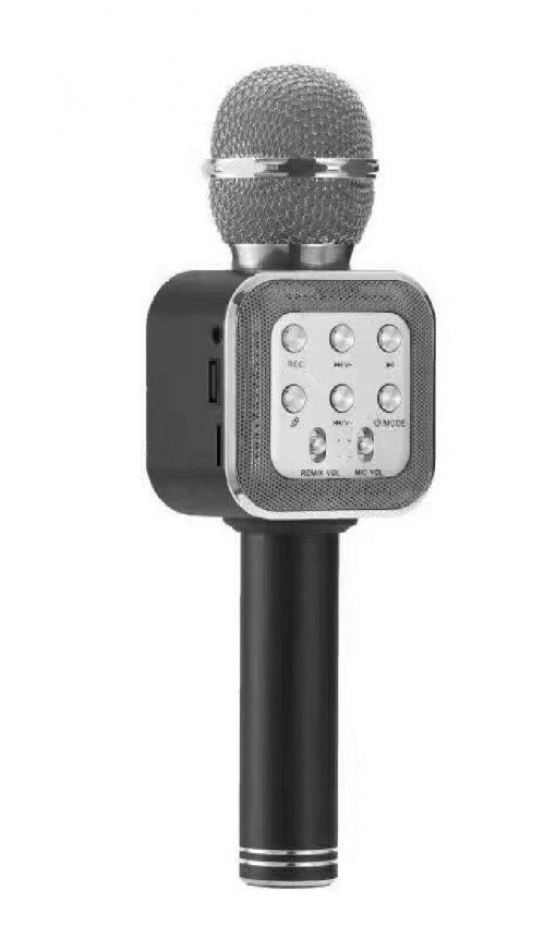 newplay ws-1818 bluetooth karaoke mikrofon silver