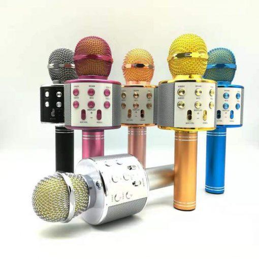 Newplay ws-858 light KTV karaokemikrofon bluetooth