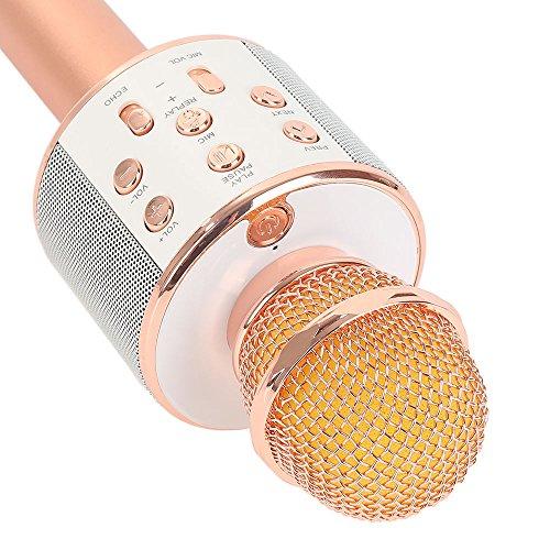 newplay-ws-858-karaokemikrofon-bluetooth-5w-högtalare-aprikos