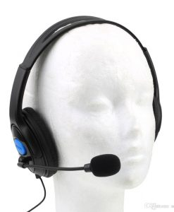 newplay gaming hörlurar headset svart P4